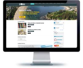 Diseño páginas web Galicia porfolio publicidad