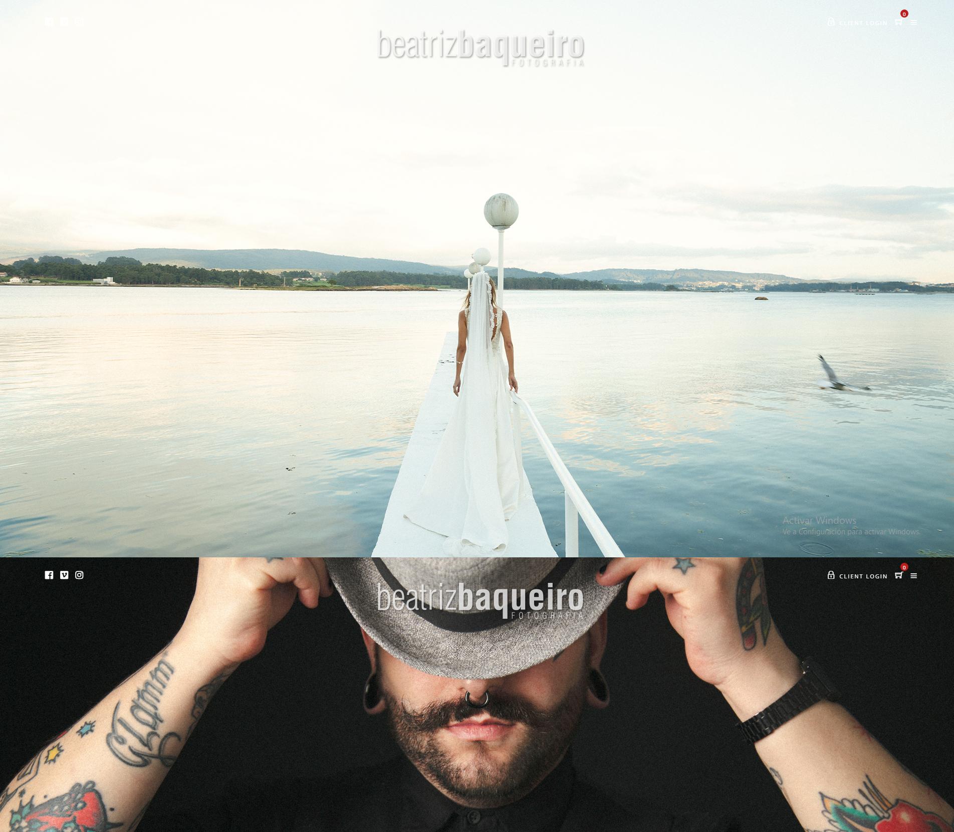 Ejemplos diseño tienda online. Diseño para Beatriz Baqueiro